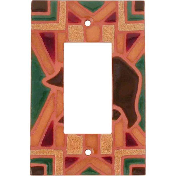 Bear Blanket - GFCI Rocker Switch Plate Covers