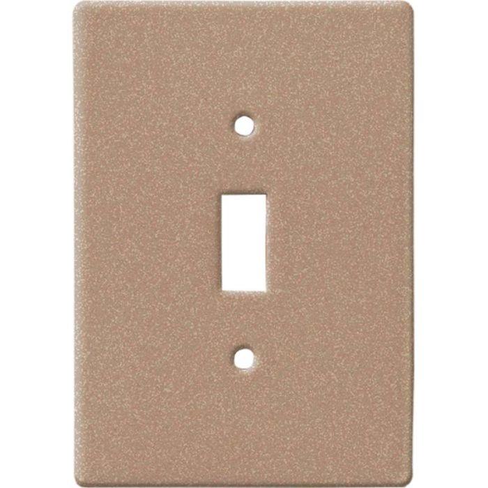 Bella Plain Noce Single 1 Toggle Light Switch Plates