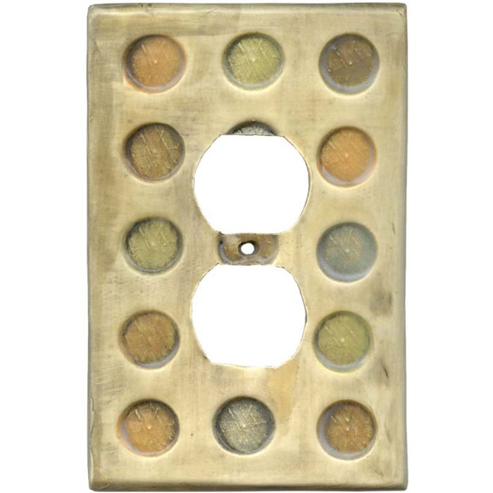 Big Spots 1 Gang Duplex Outlet Cover Wall Plate