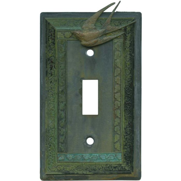 Birds Single 1 Toggle Light Switch Plates