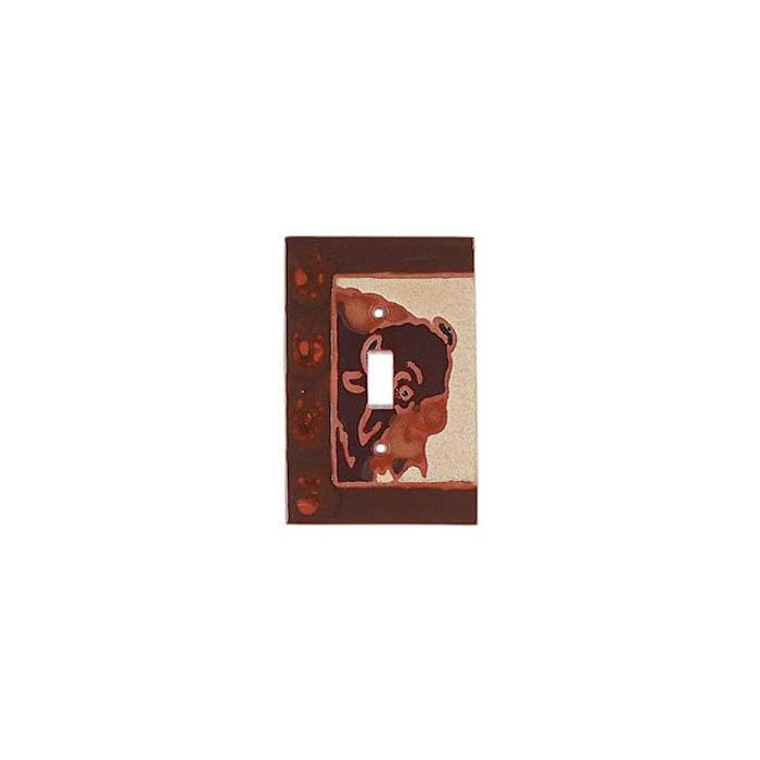 Bison - 1 Toggle Light Switch Plates