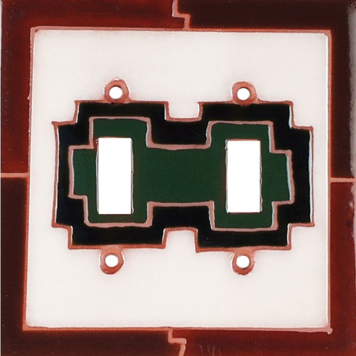 Blanket 79 Double 2 Toggle Switch Plate Covers
