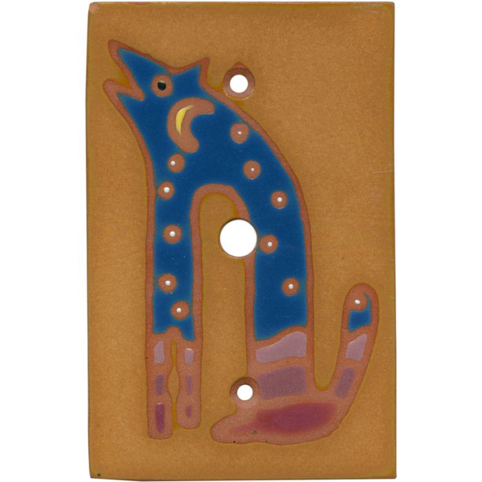 Blue Coyote Coax Cable TV Wall Plates