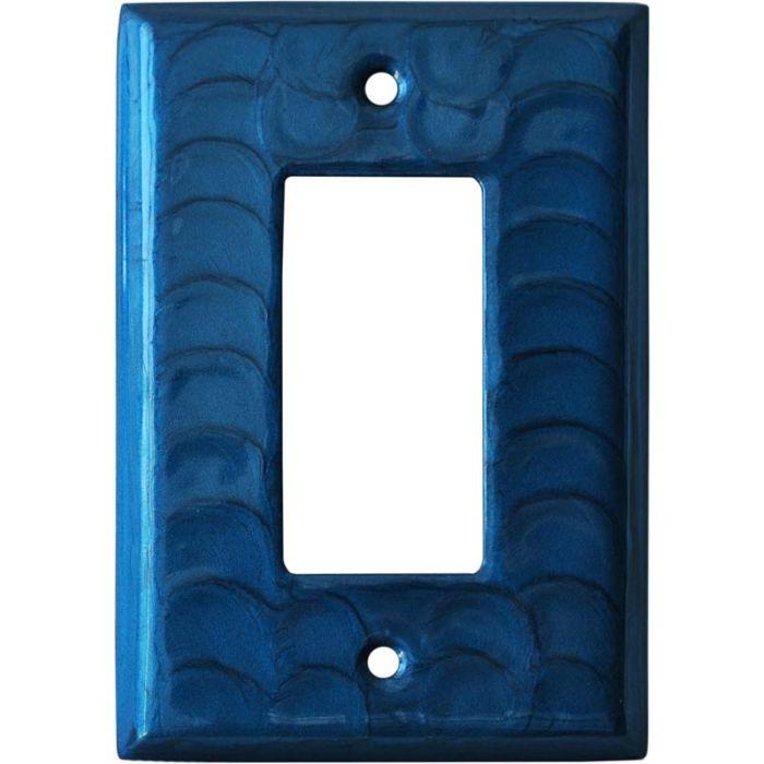 Blue Motion Single 1 Gang GFCI Rocker Decora Switch Plate Cover