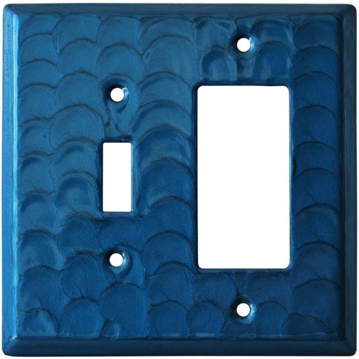 Blue Motion Combination 1 Toggle / Rocker GFCI Switch Covers