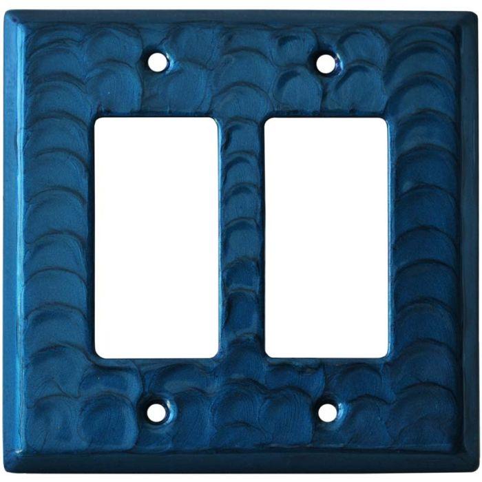 Blue Motion - 2 Gang Double GFCI Rocker Wallplates