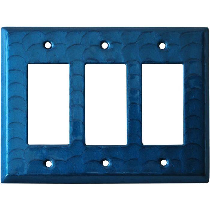 Blue Motion - 3 Rocker GFCI Decora Switch Covers