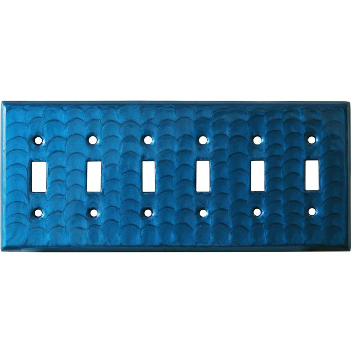 Blue Motion 6 Toggle Light Switch Covers