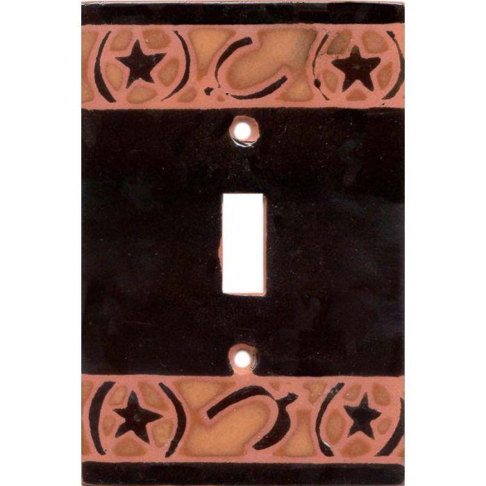 Brands - Spurs Single 1 Toggle Light Switch Plates