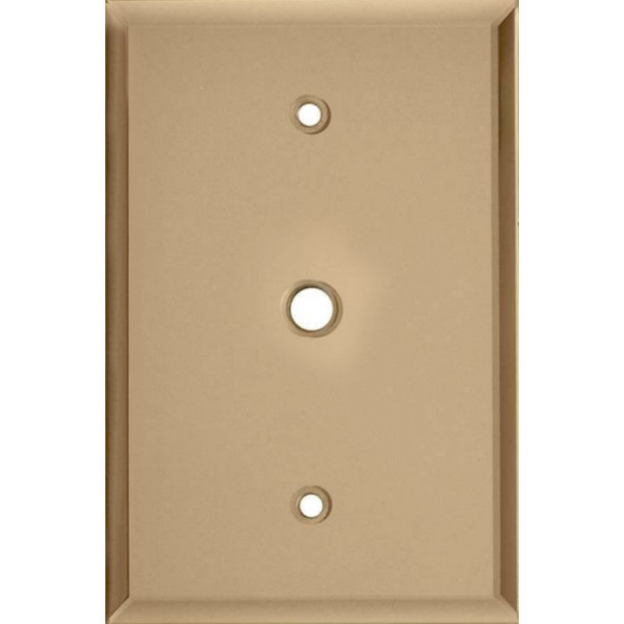 Glass Mirror Bronze Tint Coax Cable TV Wall Plates