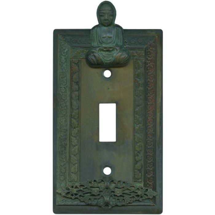 Buddha Single 1 Toggle Light Switch Plates