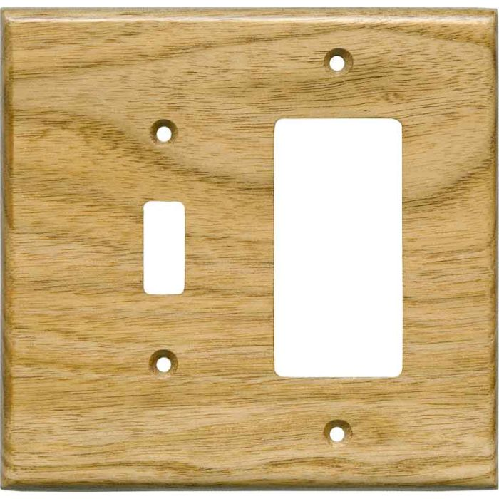 Butternut Satin Lacquer - Combination 1 Toggle/Rocker Switch Covers