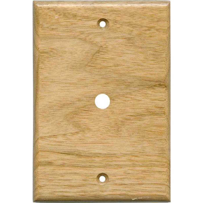 Butternut Satin Lacquer - Cable Wall Plates
