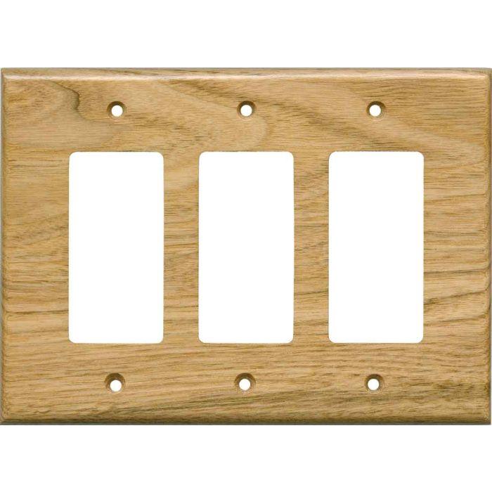 Butternut Satin Lacquer3 - Rocker / GFCI Decora Switch Plate Cover