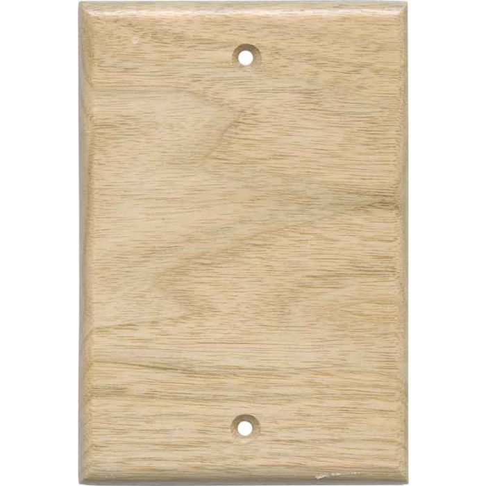 Butternut Unfinished Blank Wall Plate Cover