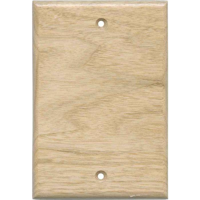 Butternut Unfinished - Blank Wall Plates