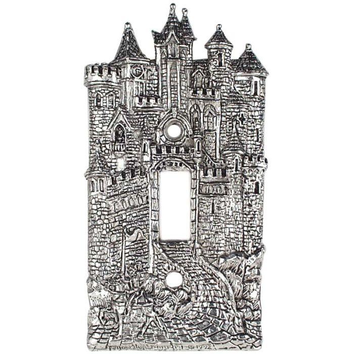 Castle Single 1 Toggle Light Switch Plates