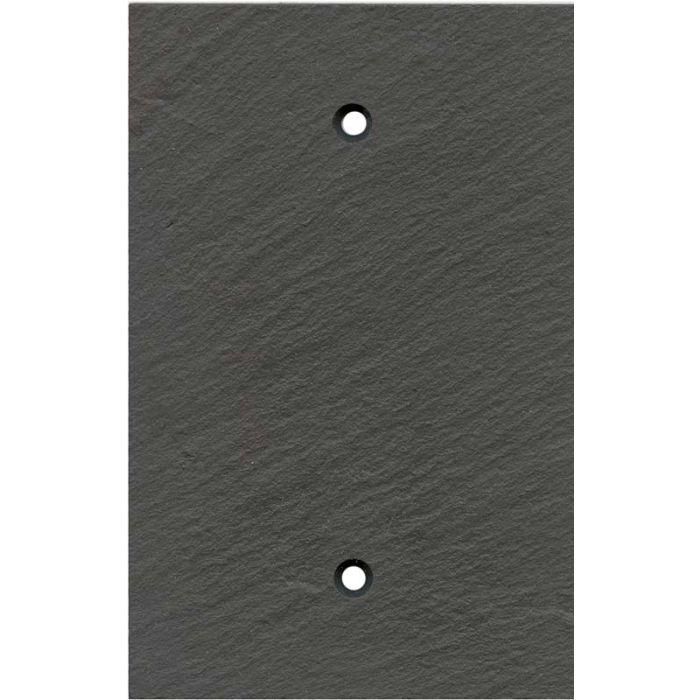 Vermont Charcoal Slate 1 Gang Blank Wall Plates
