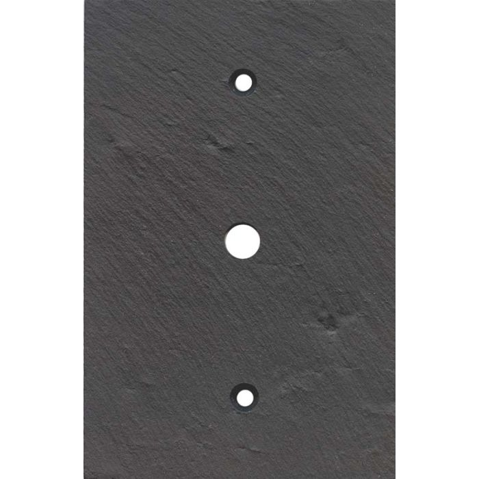 Vermont Charcoal Slate Coax Cable TV Wall Plates