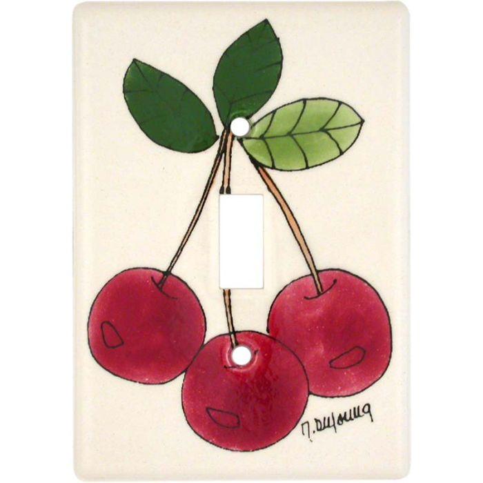 Cherry Bunch Single 1 Toggle Light Switch Plates
