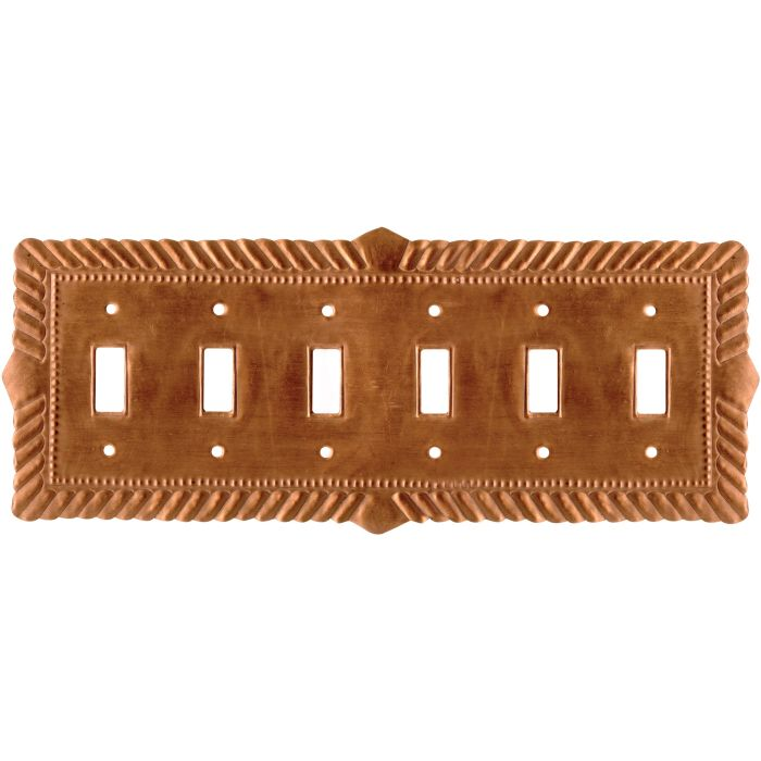 Viet Nam Oxidized6 Toggle Light Switch Covers