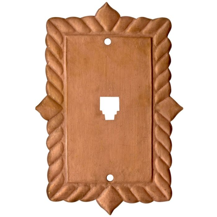 Viet Nam Oxidized 1 Toggle Light Switch Cover