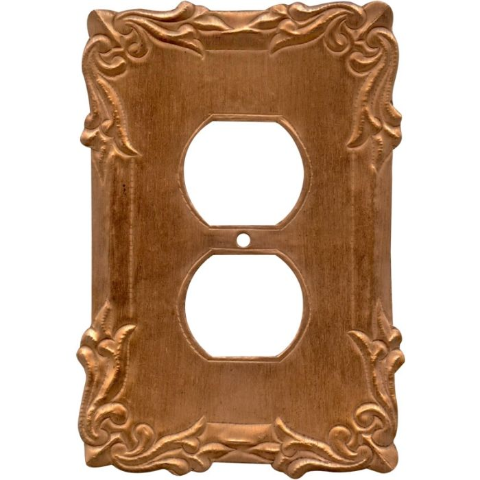 Mariah Oxidized 1 Gang Duplex Outlet Cover Wall Plate