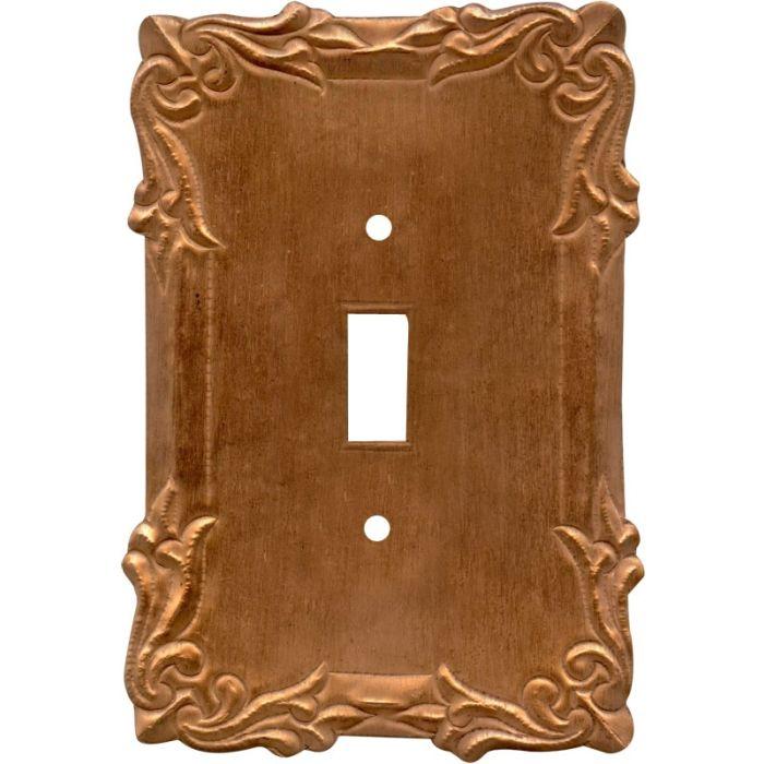 Mariah Oxidized Single 1 Toggle Light Switch Plates