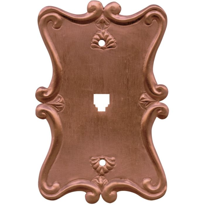 Shell Oxidized 1 Toggle Light Switch Cover