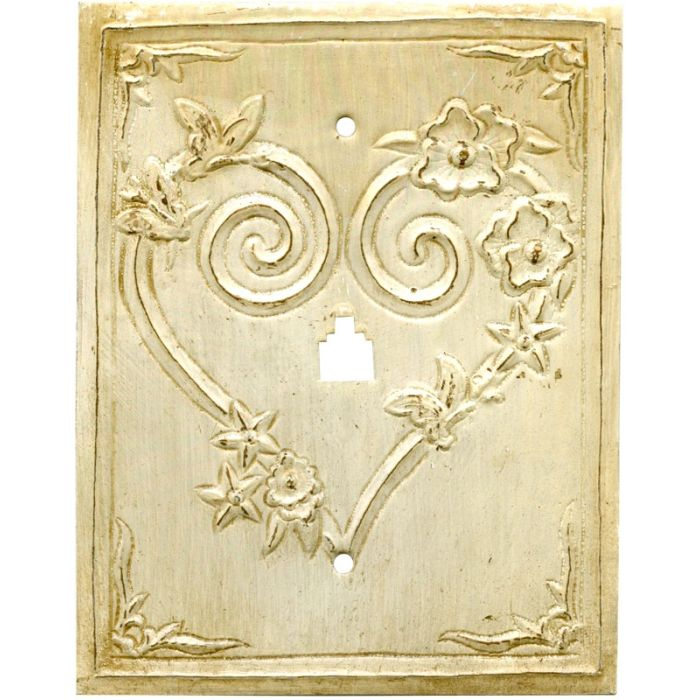 Hearts 1 Toggle Light Switch Cover