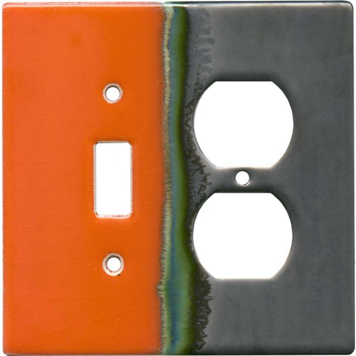Citrus Combination 1 Toggle / Outlet Cover Plates