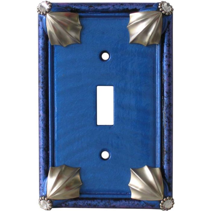 Cleo Lapis Periwinkle 1 Toggle Light Switch Cover