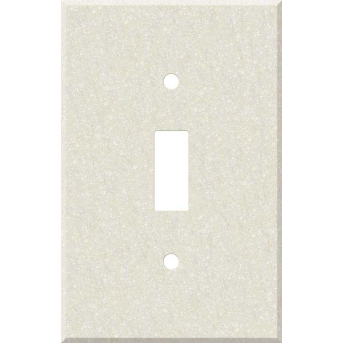 Corian Abalone Single 1 Toggle Light Switch Plates