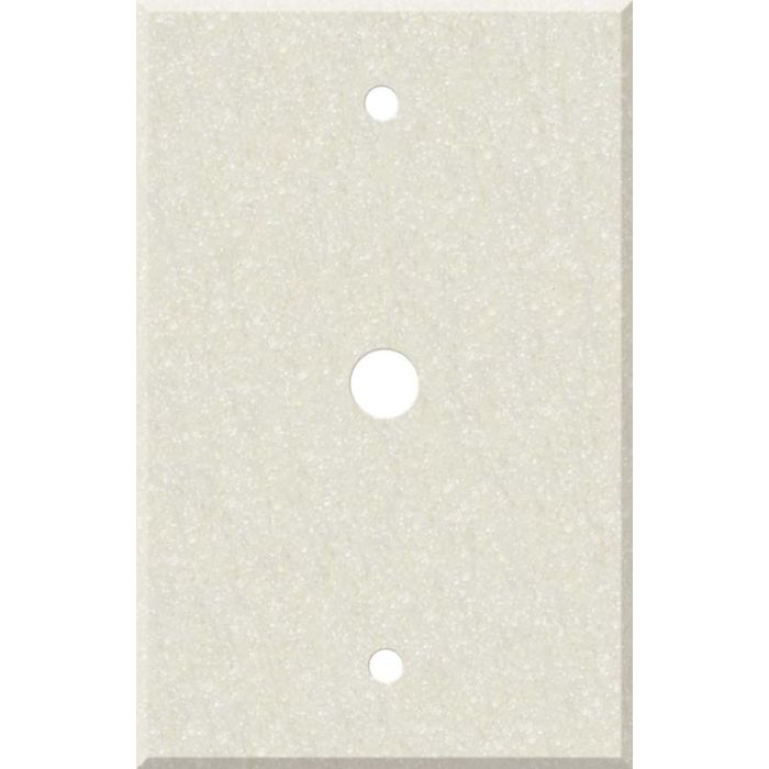 Corian Abalone Coax Cable TV Wall Plates