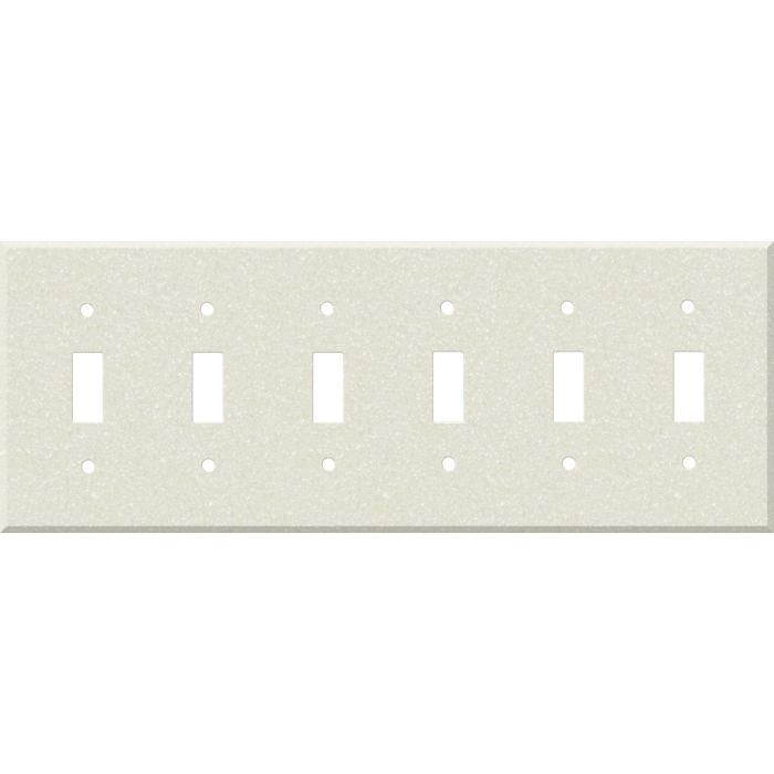 Corian Abalone 6 Toggle Wall Plate Covers