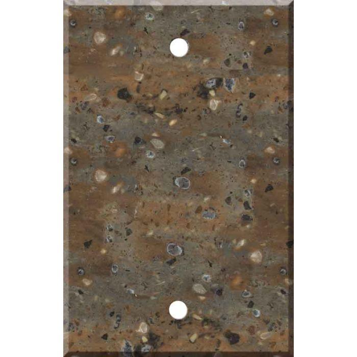 Corian Allspice - Blank Plate