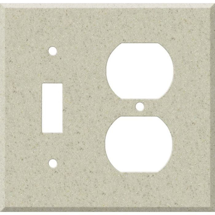 Corian Aurora Combination 1 Toggle / Outlet Cover Plates