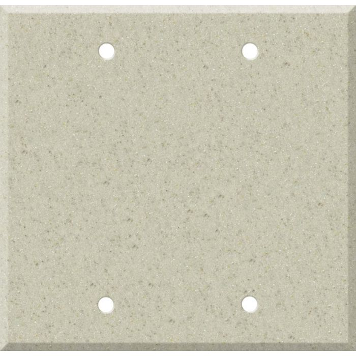 Corian Aurora Double Blank Wallplate Covers