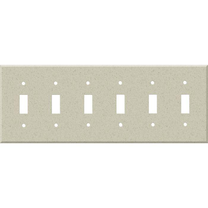 Corian Aurora 6 Toggle Wall Plate Covers