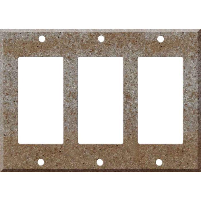 Corian Basil 3 - Rocker / GFCI Decora Switch Plate Cover