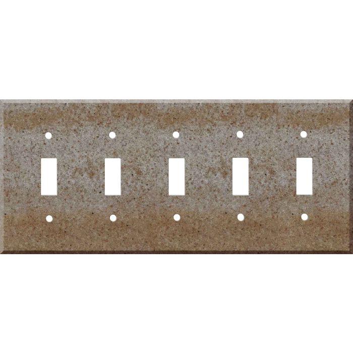 Corian Basil 5 Toggle Light Switch Covers