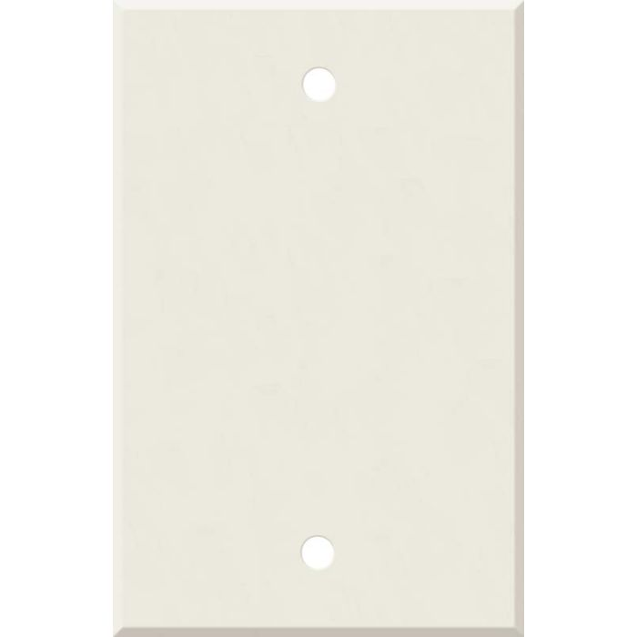 Corian Bisque Blank Wall Plate Cover