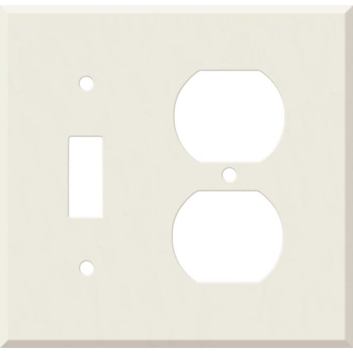 Corian Bisque Combination 1 Toggle / Outlet Cover Plates