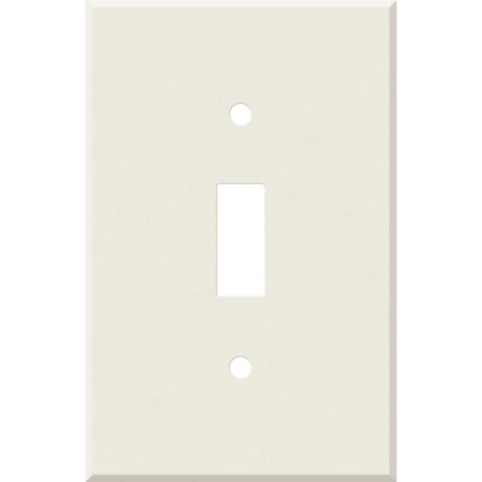Corian Bisque Single 1 Toggle Light Switch Plates