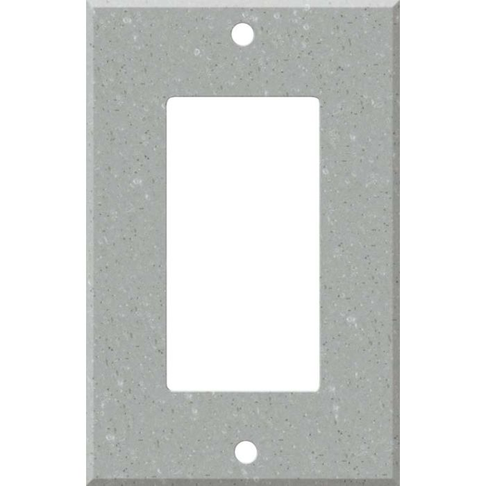 Corian Blue Pebble Single 1 Gang GFCI Rocker Decora Switch Plate Cover