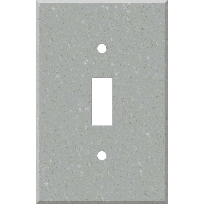 Corian Blue Pebble Single 1 Toggle Light Switch Plates