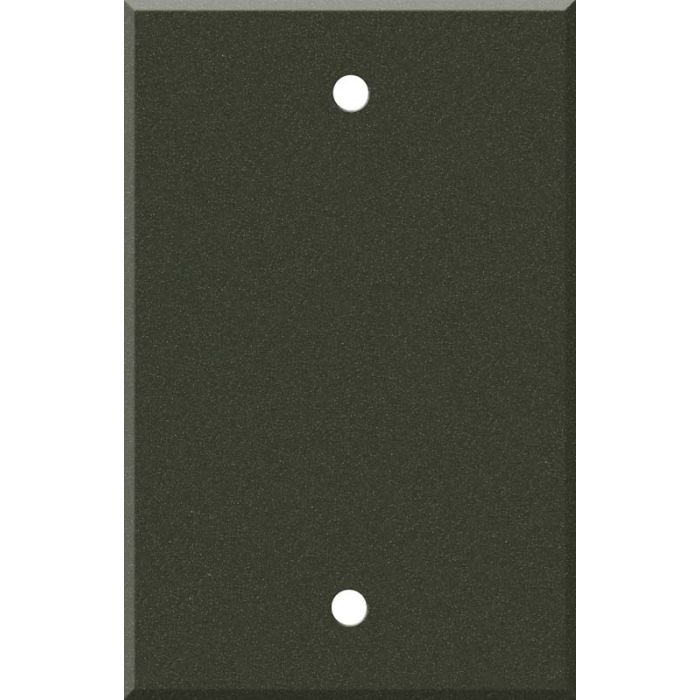 Corian Bronze Patina Blank Wall Plate Cover