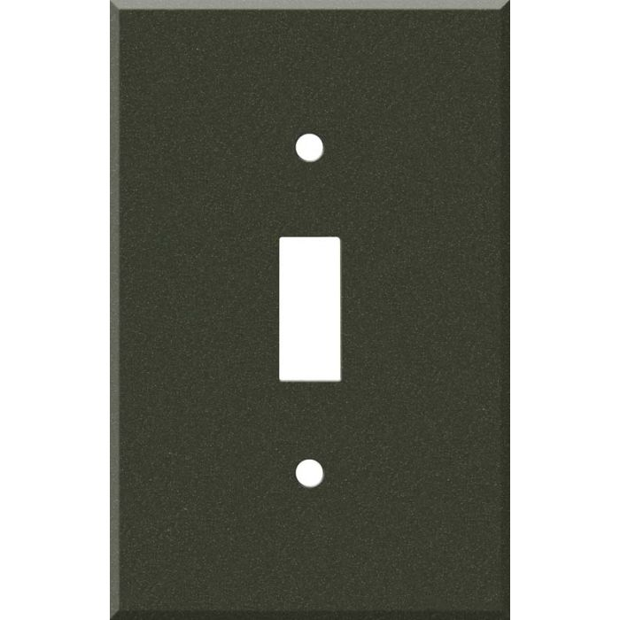 Corian Bronze Patina 1 Toggle Light Switch Cover