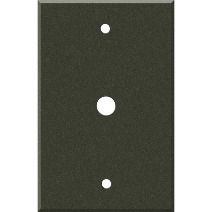Corian Bronze Patina Coax Cable TV Wall Plates