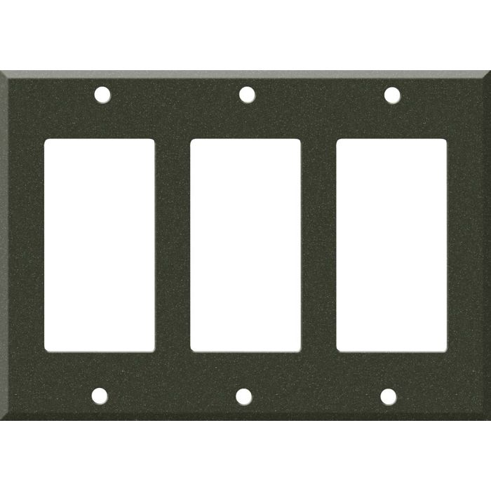 Corian Bronze Patina 3 - Rocker / GFCI Decora Switch Plate Cover